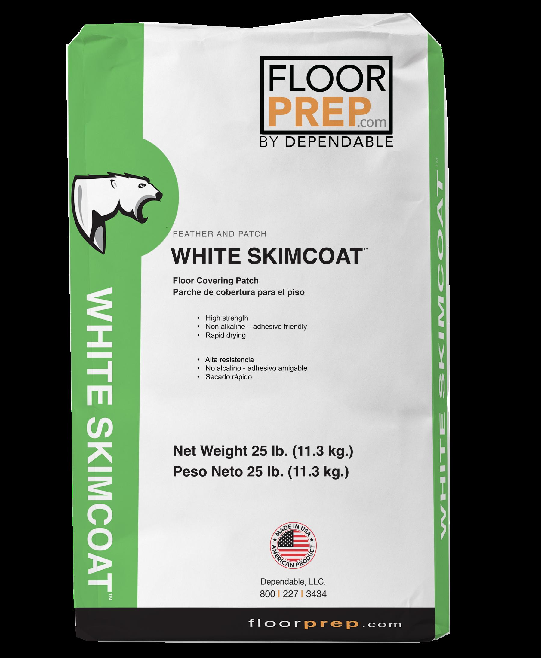 white skimcoat