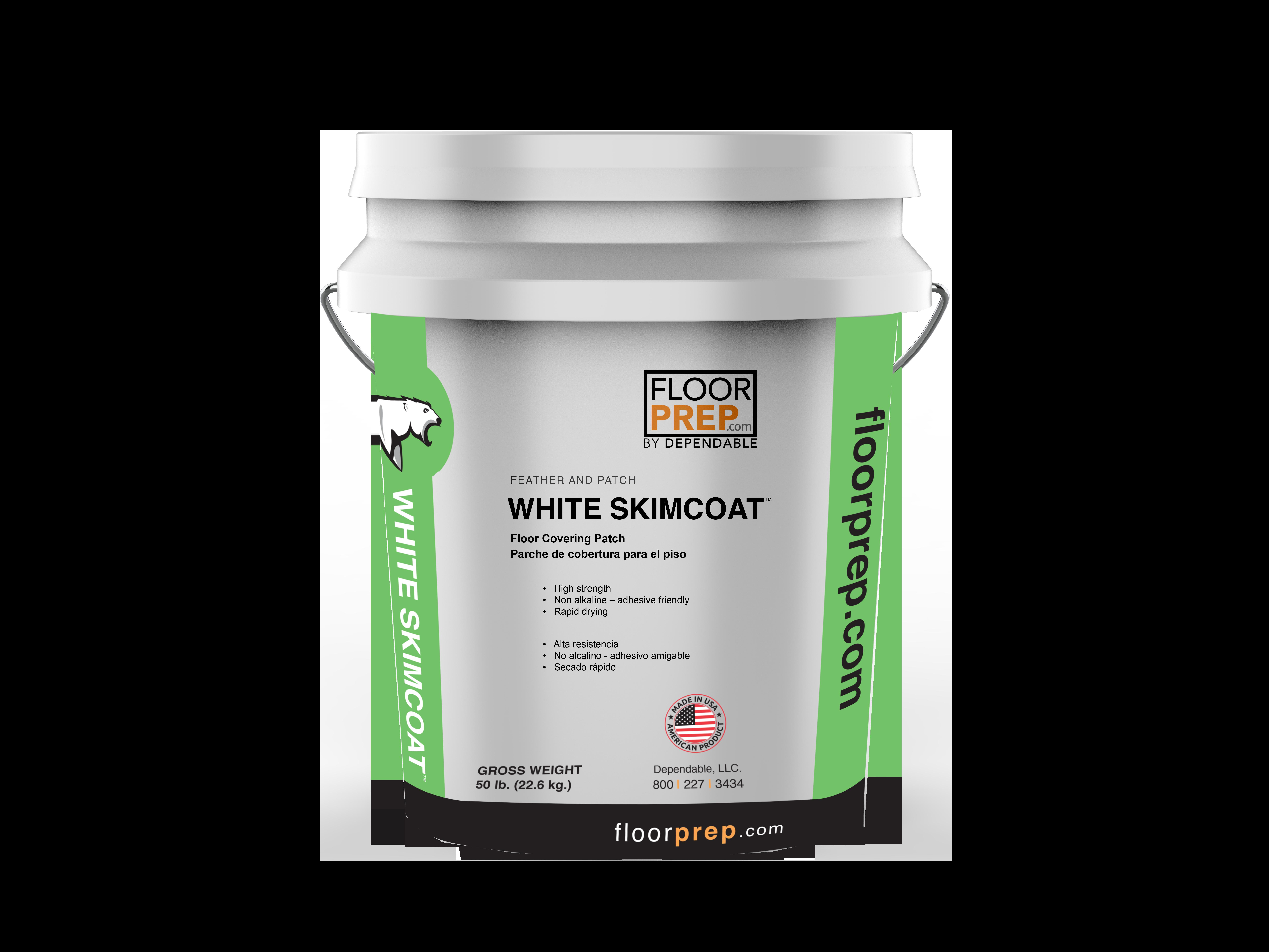 whiteskmcoat pail